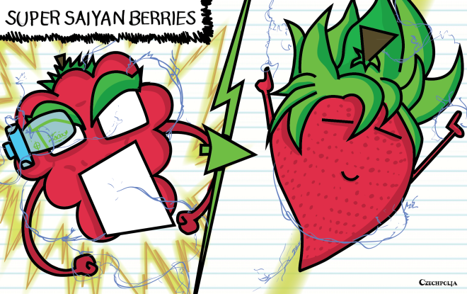 Super Saiyan Berries