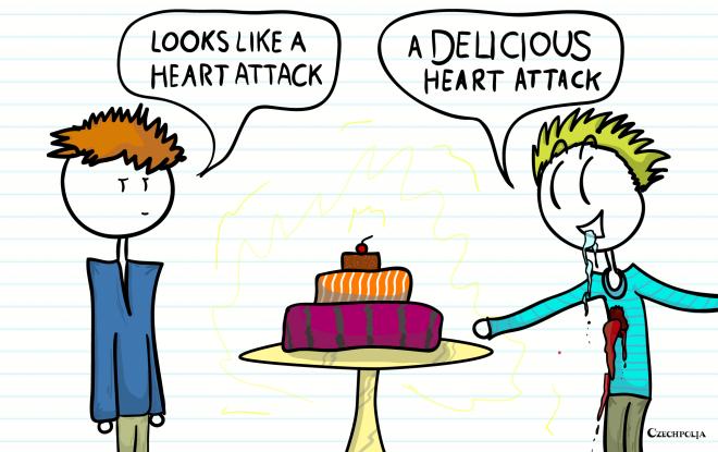 a DELICIOUS heart attack!